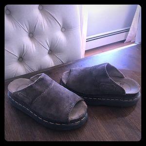 Dr. Martens suede sandal
